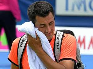 Loss not a problem, says Tomic
