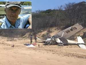 'He's a hero': Moments before, after fatal plane crash revealed