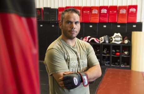 MMA fighter Matt Thompson.