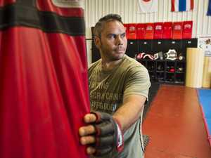 'I used to be an angry person': MMA fighter's inspiring tale