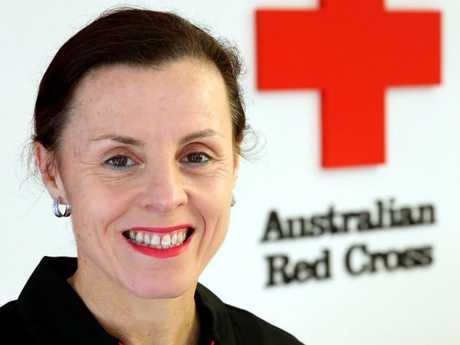 Australian Red Cross first aid trainer Janie McCullagh.