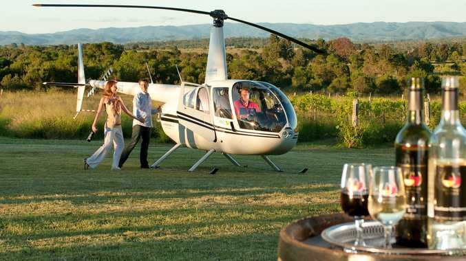 Talk about arriving in style! Take your pub crawl to the next level with a helicopter!
