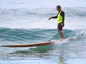 Not all the best action of surfing festival on water