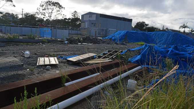 EYESORE: Work will begin soon on the cinema site in Jonson St, developer Wingate has assured locals.