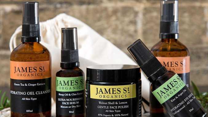NATURALLY GOOD: Some of the James St Organics range.