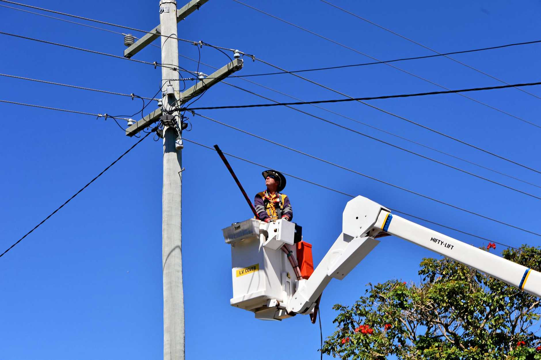 Energex is planning power outages for parts of Ipswich.