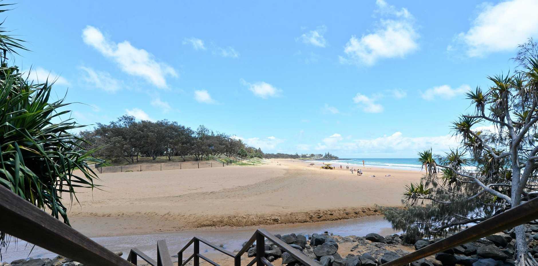 BARGARA: Kellys Beach.