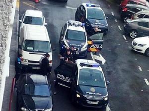 Gunman wearing suicide vest opens fire in Spain