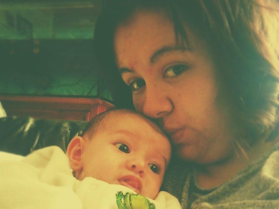 Emma and daughter Hannah-Maria
