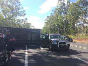 Caravan involved in crash