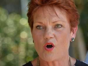 Pauline Hanson fires up at journalist