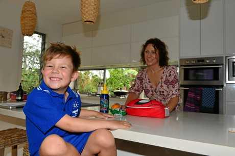 Owen Wilson and his mum Wendy Wilson.