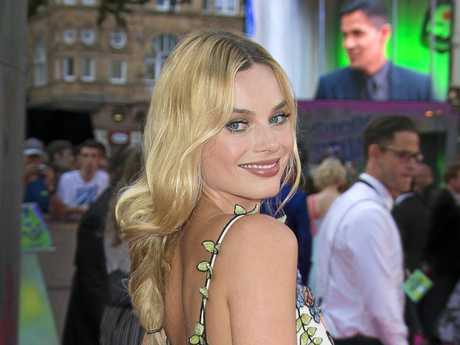 Actress Margot Robbie, star of Suicide Squad, was married in Byron Bay last month. (AP Photo/Joel Ryan)