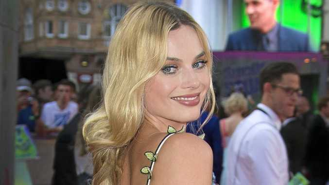 Actress Margot Robbie poses for photographers upon arrival at the European Premiere of Suicide Squad, at a central London cinema in Leicester Square, Wednesday, Aug 3, 2016.