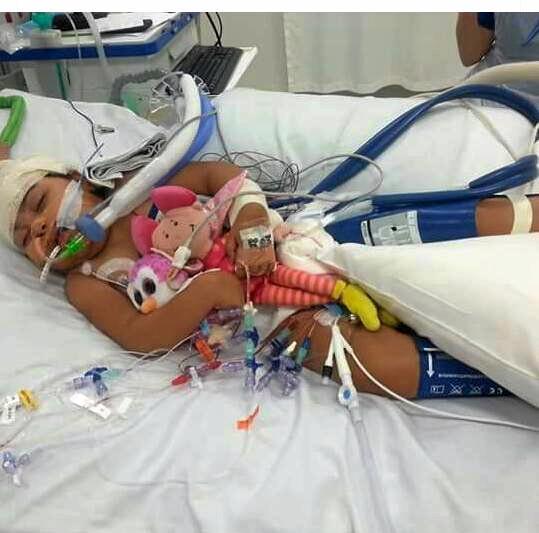 Terminally ill eight-year-old Suli.