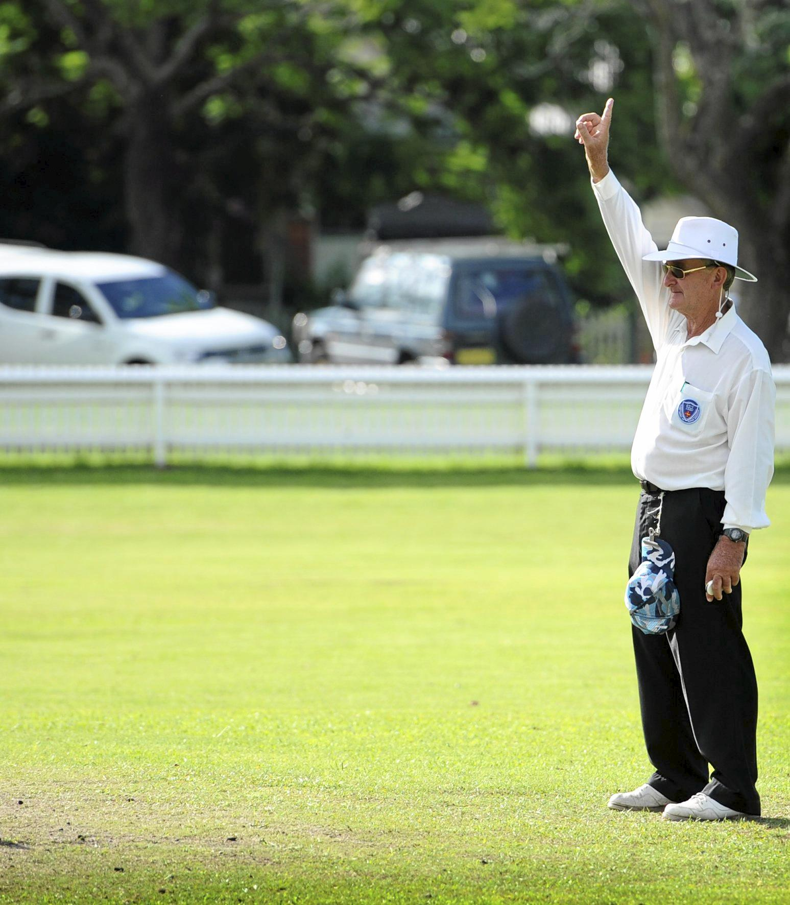 CHECKING OFF THE LIST: After his SCG debut and a Country Cup final Bruce Baxter is set to take on his next umpiring challenge at a Sydney first grade clash.