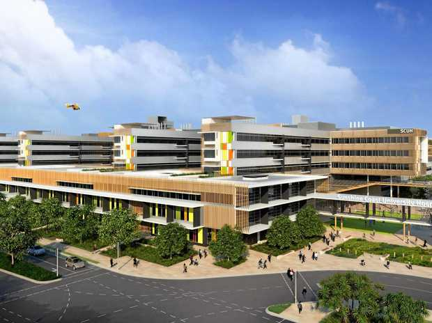 The air-conditioning at the soon-to-be opened Sunshine Coast University Hospital failed this week.