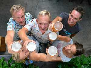 Locals crack first keg of revived Eumundi Lager