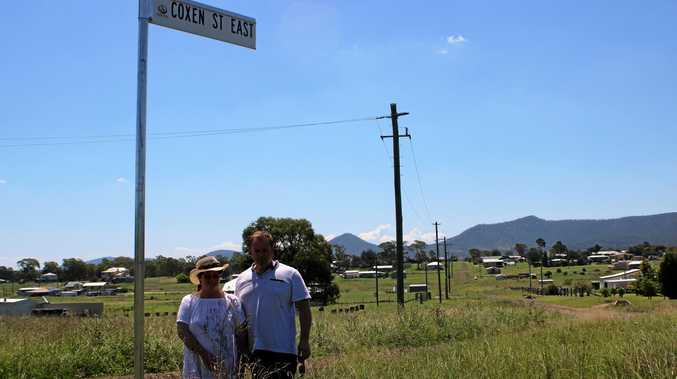 FED UP: Maryvale residents Kathy Rohweder and David Bowen are frustrated by inaction from Southern Downs Regional Council to help maintain roads in the town.