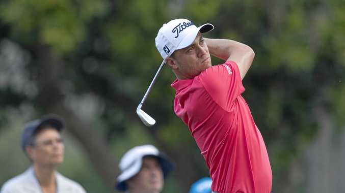 EXCLUSIVE CLUB: Justin Thomas became the youngest golfer to break 60 on the US PGA Tour.