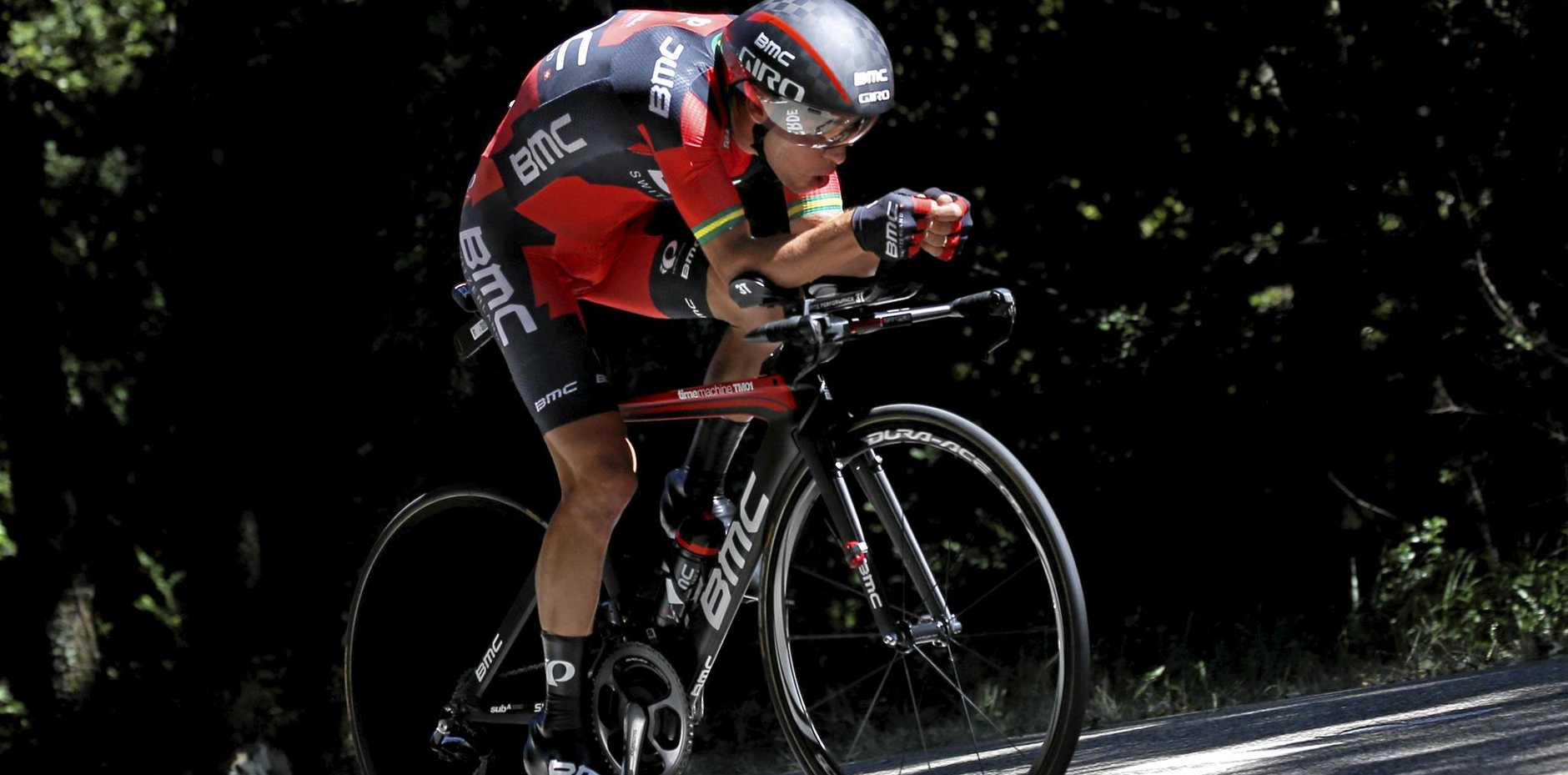 THE ONE TO BEAT: Australia's Richie Porte will be the favourite for this year's Tour Down Under.