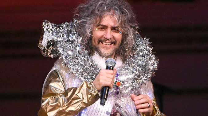 Singer Wayne Coyne and The Flaming Lips perform at The Music of David Bowie tribute concert at Carnegie Hall, last year.