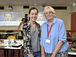 Young and old show off talents at Toowoomba art retreat