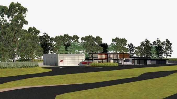 AN artist impression of facilities at a proposed $41 million development at Empire Vale.