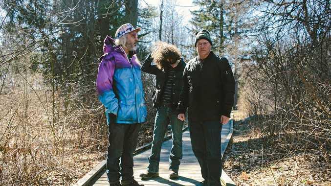 ROCK ELDERS: Dinosaur Jr. (J Mascis, Lou Barlow and Murph) keep producing quality albums.