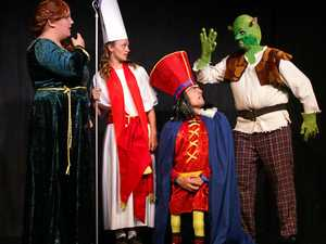 Shrek on stage