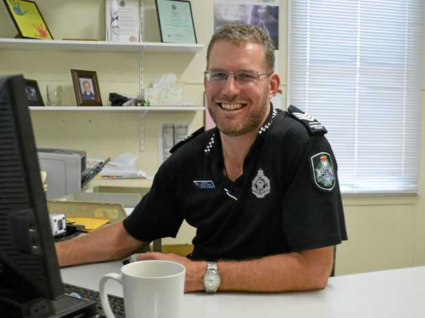 Miles Police officer-in-charge Sergeant Ben Wiltshire is moving on after more than six years.