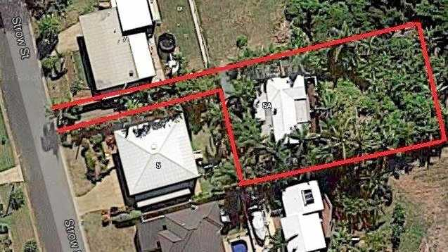 Stephanie Salmon moved onto the Barlows Hill property in 1998, planting dozens of palm trees - 35 of which hung over the shared fence.