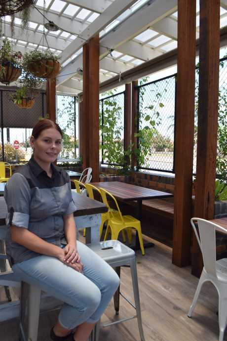 The Malt House front-of-house supervisor Caitlin Harrison.