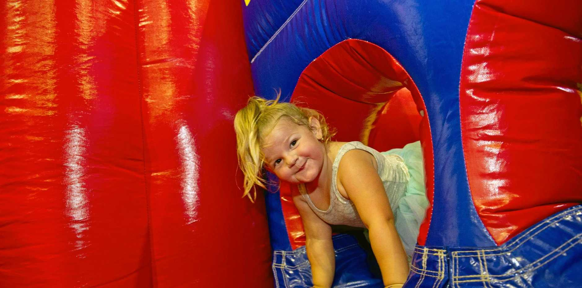 Ravie, 3. Holiday Fun at the GECC Inflatable Gym.