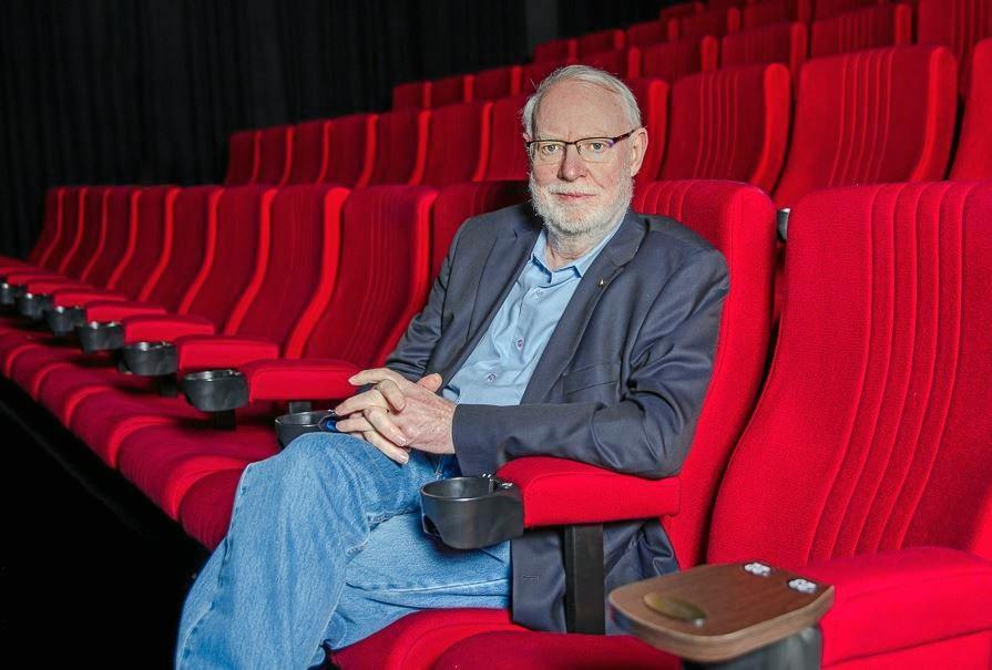 David Stratton will take part in the Australian Film Festival at Maleny