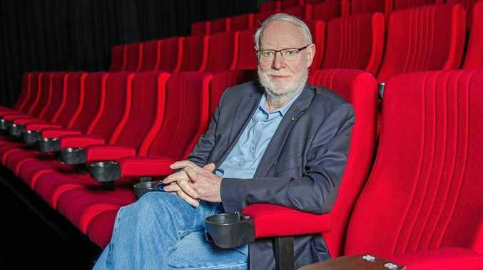 David Stratton will take part in the Australian Film Festival at Maleny