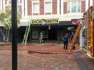 Fire at Dick Smith building