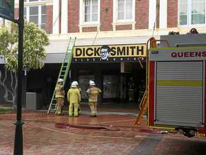 Fire breaks out at Dick Smith building