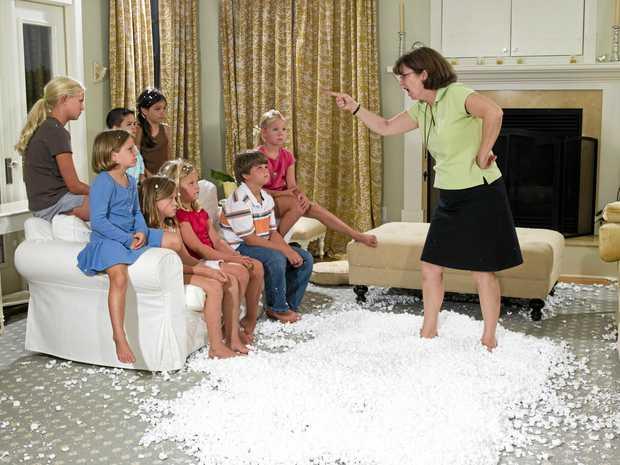 I love my grandchildren - if only kids weren't so messy!