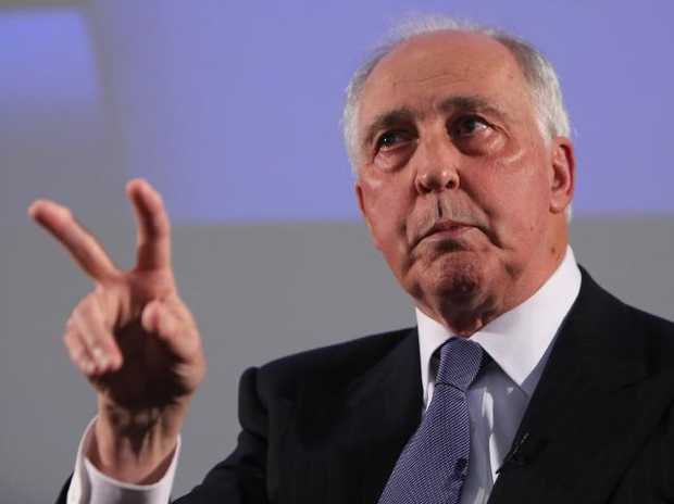 Former PM Paul Keating.