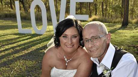 PERFECT DAY: Toowoomba couple Meagan Horne and Rene Derksen were gifted a perfect wedding at Reflections - Lake Cooby.