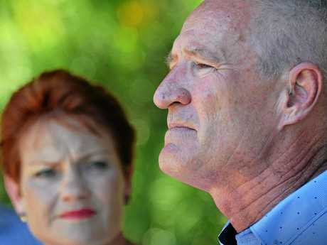 One Nation leader Pauline Hanson and MP Steve Dickson announce a game changing move in the next Queensland State election.