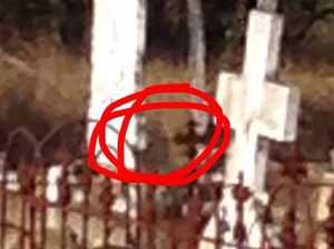 'Little girl' ghost snapped at Goombungee-Haden cemetery