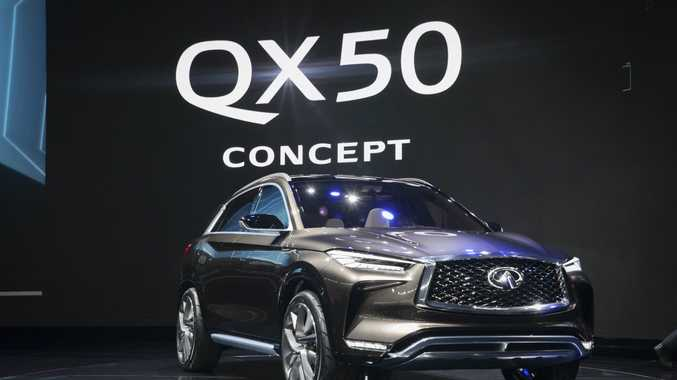 Infiniti QX50 Concept at the 2017 International Auto Show, Detroit