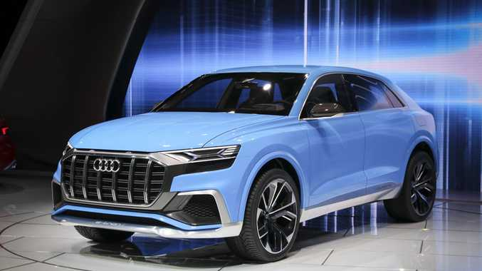 SUV STAR: Audi Q8 is a 330kW plug-in petrol-electric SUV concept looking close to production ready and set to arrive here by 2018.