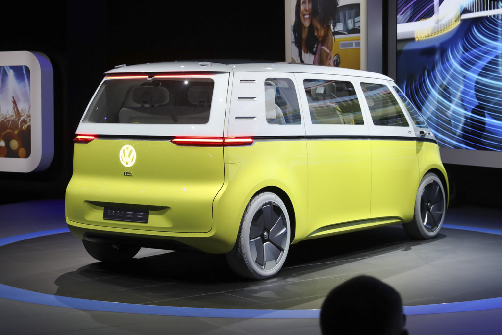 Volkswagen ID Microbus at the 2017 International Auto Show, Detroit
