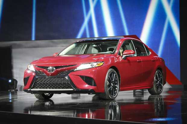 New Toyota Camry at the 2017 International Auto Show, Detroit