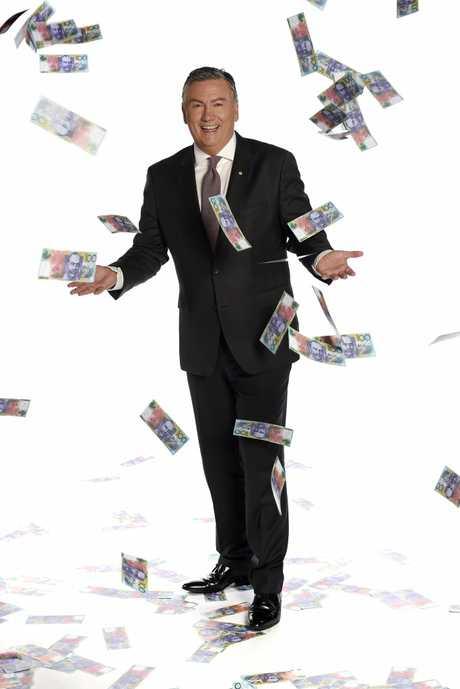 Eddie McGuire hosts the new Millionaire Hot Seat Super Game.