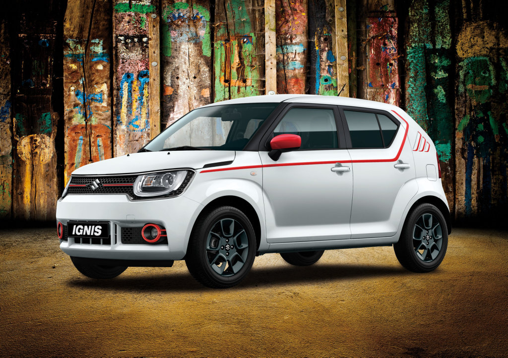 LITTLE ZOOK: Bags of personality, custom colour choices, impressive standard kit and quite unique styling, Suzuki's tiny new Ignis SUV is ready to take you to Funky Town.