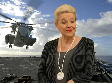 Speaker of the House Bronwyn Bishop in the firing line for chartering a $5000 helicopter ride to a Liberal Party fundraiser.